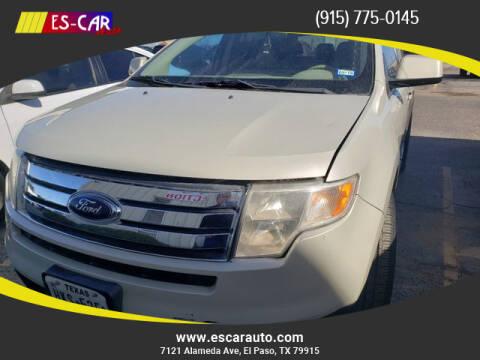 2007 Ford Edge for sale at Escar Auto in El Paso TX