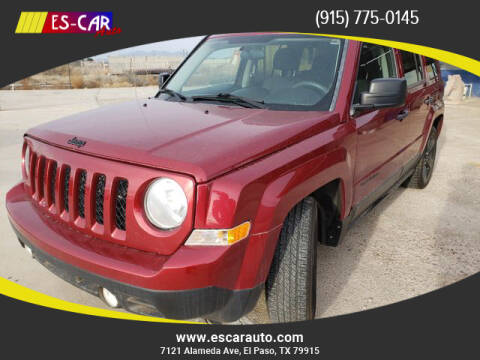 2014 Jeep Patriot for sale at Escar Auto in El Paso TX