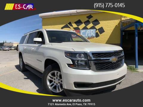 2015 Chevrolet Suburban for sale at Escar Auto in El Paso TX