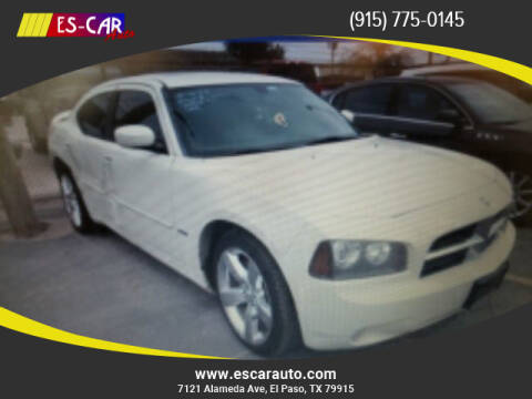 2010 Dodge Charger for sale at Escar Auto in El Paso TX