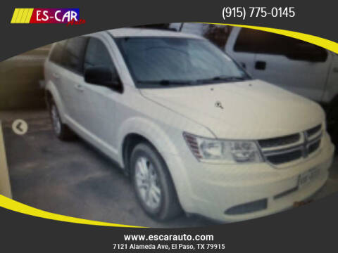 2014 Dodge Journey for sale at Escar Auto in El Paso TX