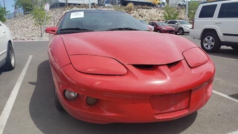 2001 Pontiac Firebird for sale in El Paso, TX