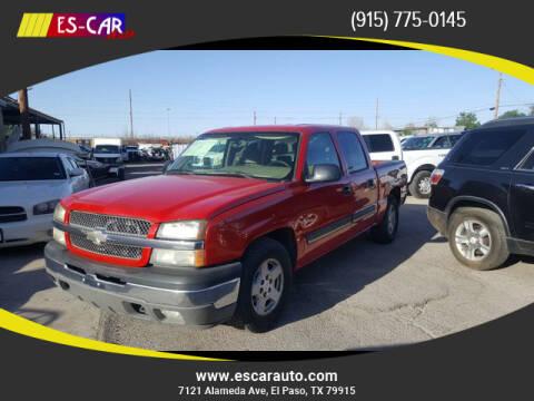 2005 Chevrolet Silverado 1500 for sale at Escar Auto in El Paso TX