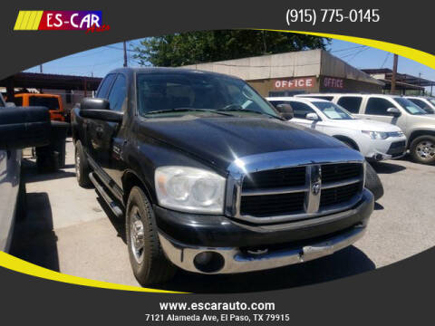 2007 Dodge Ram Pickup 2500 for sale at Escar Auto in El Paso TX
