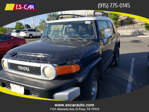 2008 Toyota FJ Cruiser for sale at Escar Auto in El Paso TX