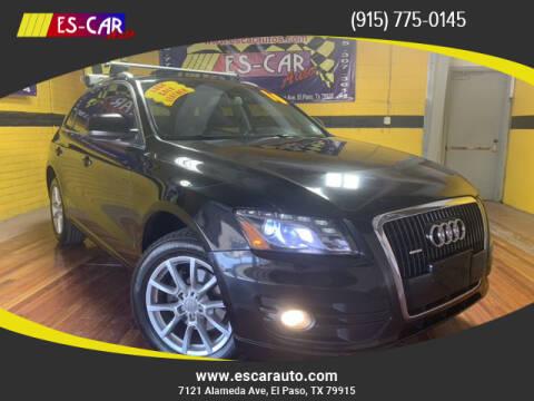 2010 Audi Q5 for sale at Escar Auto in El Paso TX