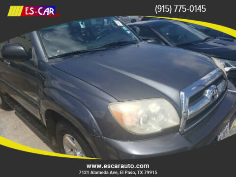 2008 Toyota 4Runner for sale at Escar Auto in El Paso TX