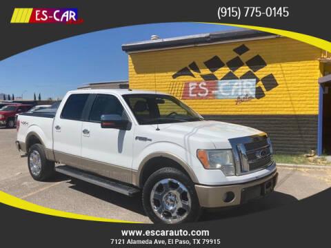 2011 Ford F-150 for sale at Escar Auto in El Paso TX