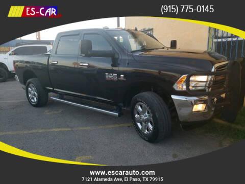 2014 RAM Ram Pickup 2500 for sale at Escar Auto in El Paso TX