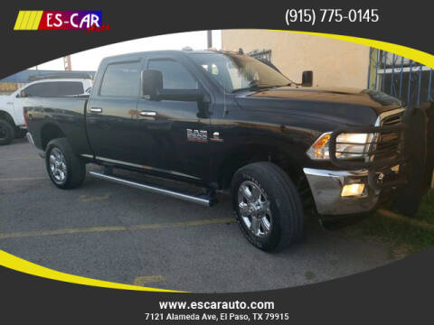 2014 RAM Ram Pickup 2500 for sale at Escar Auto in El Paso TX