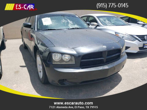 2008 Dodge Charger for sale at Escar Auto in El Paso TX