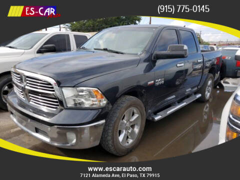 2014 RAM Ram Pickup 1500 for sale at Escar Auto in El Paso TX