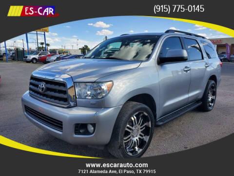 2014 Toyota Sequoia for sale at Escar Auto in El Paso TX