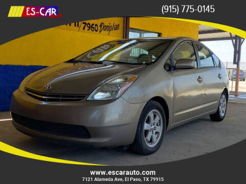 2006 Toyota Prius for sale at Escar Auto in El Paso TX