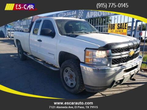 2012 Chevrolet Silverado 2500HD for sale at Escar Auto in El Paso TX