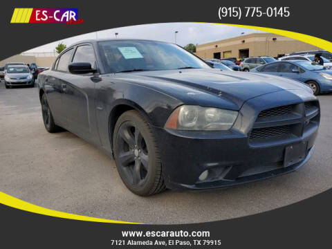 2012 Dodge Charger for sale at Escar Auto in El Paso TX