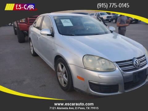 2008 Volkswagen Jetta for sale at Escar Auto in El Paso TX