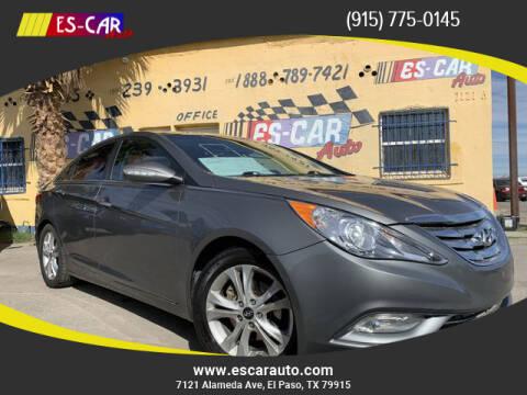 2012 Hyundai Sonata for sale at Escar Auto in El Paso TX