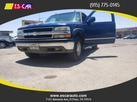 2003 Chevrolet Suburban for sale at Escar Auto in El Paso TX