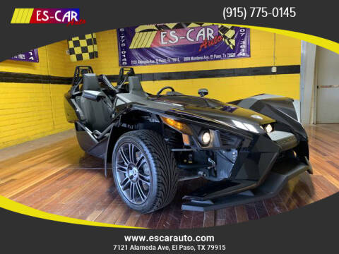 2017 Polaris Slingshot for sale at Escar Auto in El Paso TX