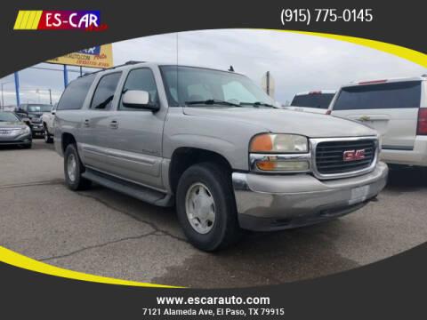 2006 GMC Yukon XL for sale at Escar Auto in El Paso TX