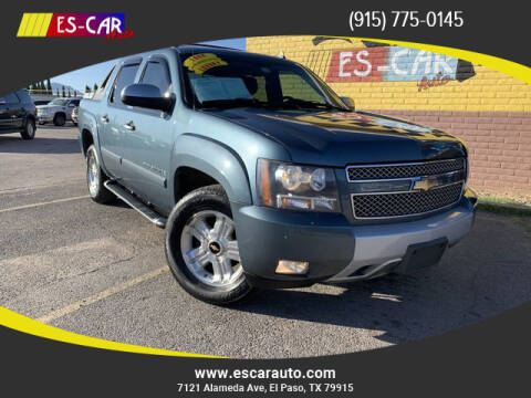 2008 Chevrolet Avalanche for sale at Escar Auto in El Paso TX