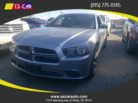 2014 Dodge Charger for sale at Escar Auto in El Paso TX