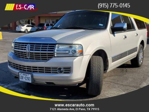 2007 Lincoln Navigator L for sale at Escar Auto in El Paso TX
