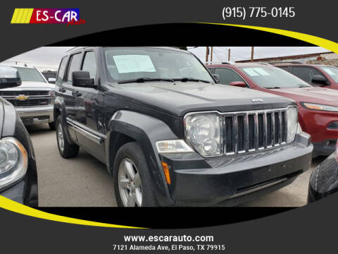2010 Jeep Liberty for sale at Escar Auto in El Paso TX