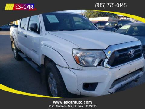 2015 Toyota Tacoma for sale at Escar Auto in El Paso TX