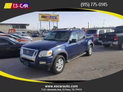 2008 Ford Explorer Sport Trac for sale at Escar Auto in El Paso TX