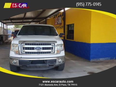 2013 Ford F-150 for sale at Escar Auto in El Paso TX