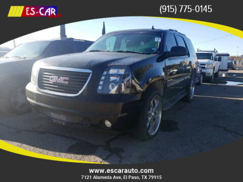 2007 GMC Yukon for sale at Escar Auto in El Paso TX