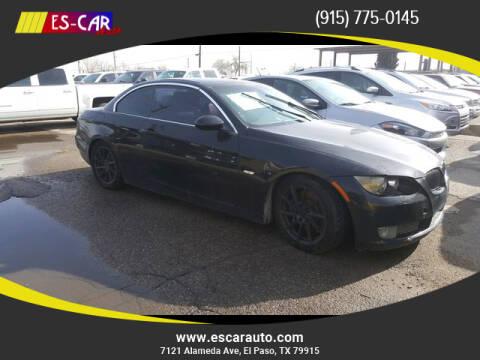 2009 BMW 3 Series for sale at Escar Auto in El Paso TX