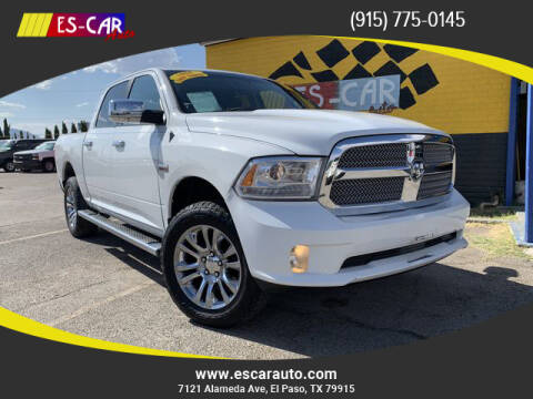 2013 RAM Ram Pickup 1500 for sale at Escar Auto - 9809 Montana Ave Lot in El Paso TX