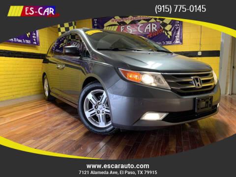 2012 Honda Odyssey for sale at Escar Auto in El Paso TX