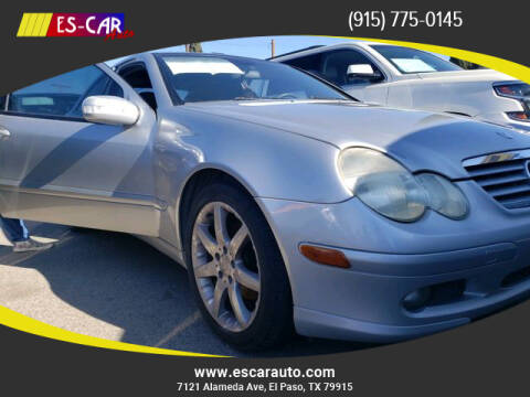 2004 Mercedes-Benz C-Class for sale at Escar Auto in El Paso TX