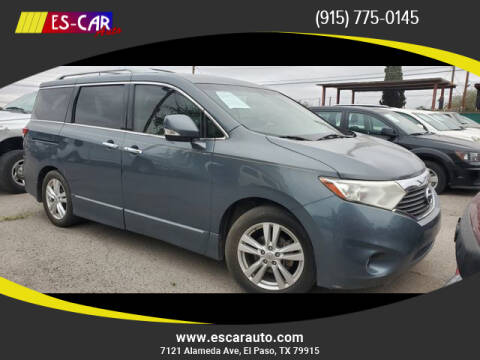 2011 Nissan Quest for sale at Escar Auto in El Paso TX