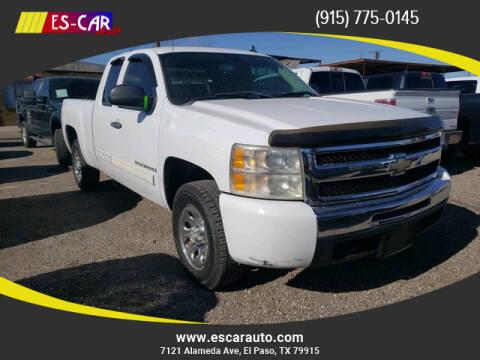 2009 Chevrolet Silverado 1500 for sale at Escar Auto in El Paso TX