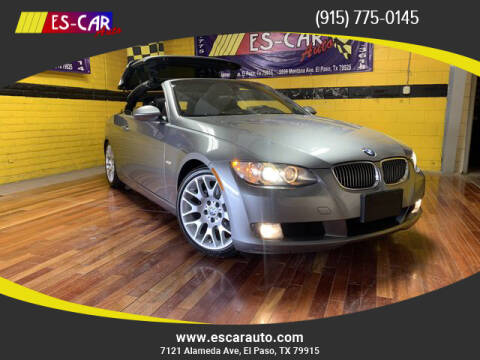 2007 BMW 3 Series for sale at Escar Auto in El Paso TX