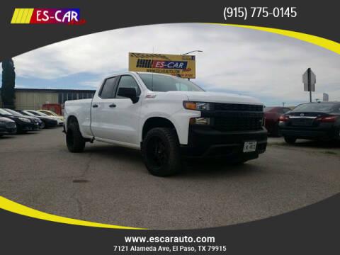 2019 Chevrolet Silverado 1500 for sale at Escar Auto in El Paso TX