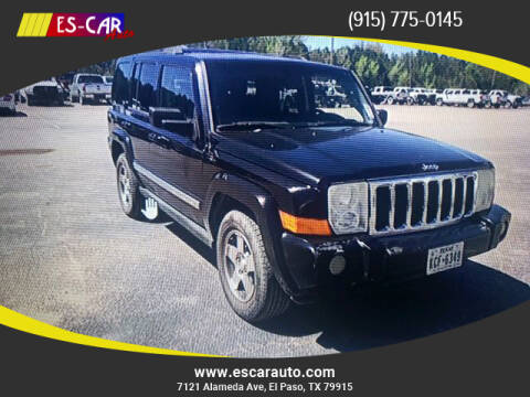 2010 Jeep Commander for sale at Escar Auto in El Paso TX