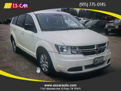 2015 Dodge Journey for sale at Escar Auto in El Paso TX