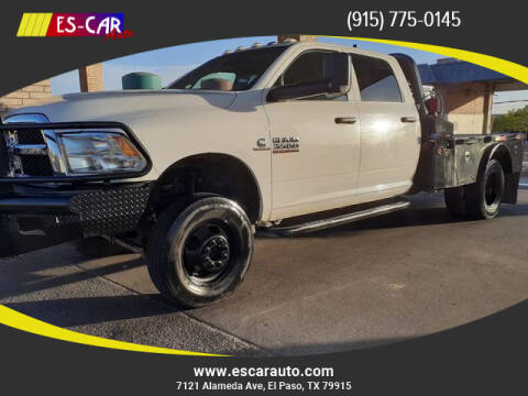 2018 RAM Ram Pickup 3500 for sale at Escar Auto in El Paso TX