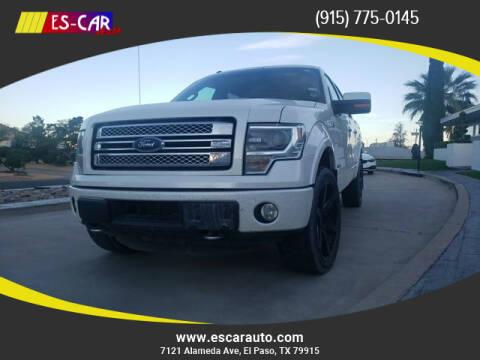 2014 Ford F-150 for sale at Escar Auto in El Paso TX
