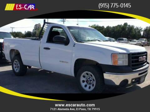 2011 GMC Sierra 1500 for sale at Escar Auto in El Paso TX