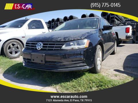 2018 Volkswagen Jetta for sale at Escar Auto in El Paso TX