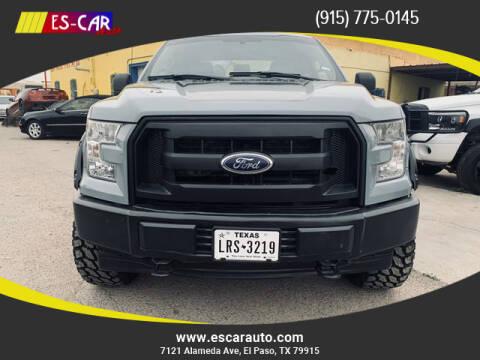 2017 Ford F-150 for sale at Escar Auto in El Paso TX