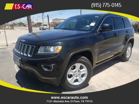 2015 Jeep Grand Cherokee for sale at Escar Auto in El Paso TX