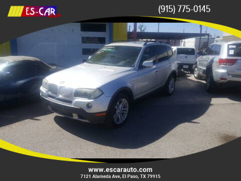2007 BMW X3 for sale at Escar Auto in El Paso TX